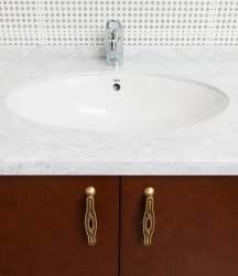 Столешница в ванную из акрила